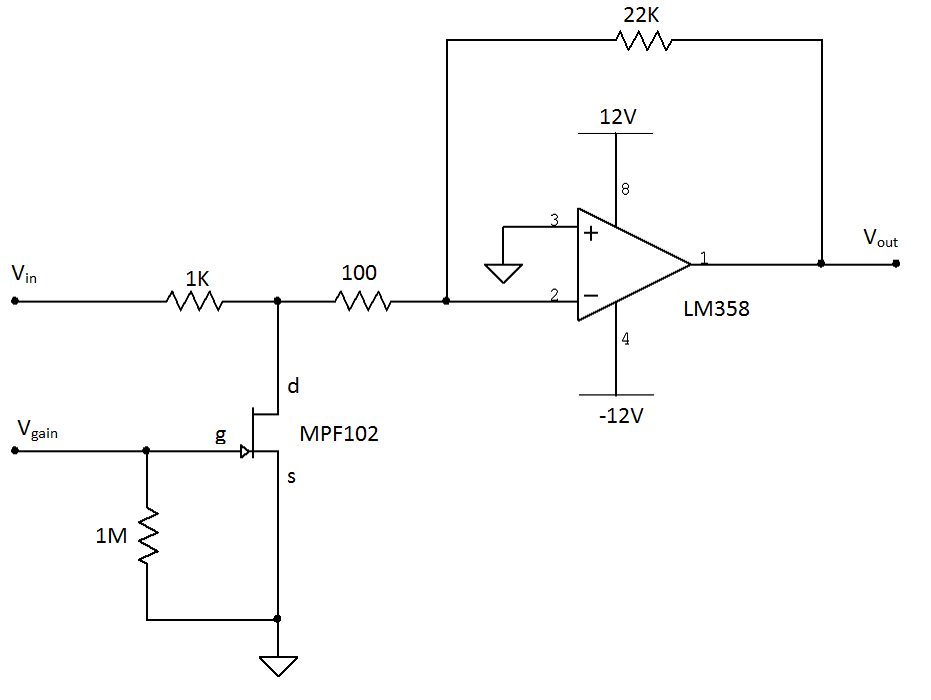 schematic for voltage divider